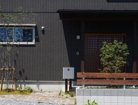 とある展示場のエクステリア 【和モダン昼編】