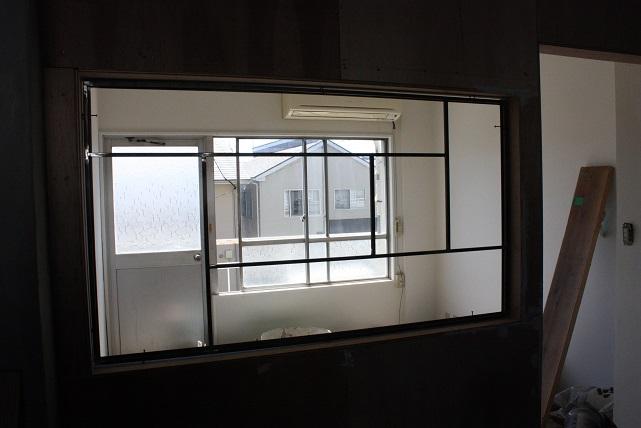 アイアン窓枠