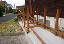 木製デッキスロープ